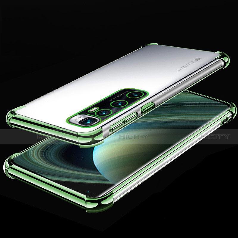 Coque Ultra Fine TPU Souple Housse Etui Transparente H04 pour Xiaomi Mi 10 Ultra Vert Plus