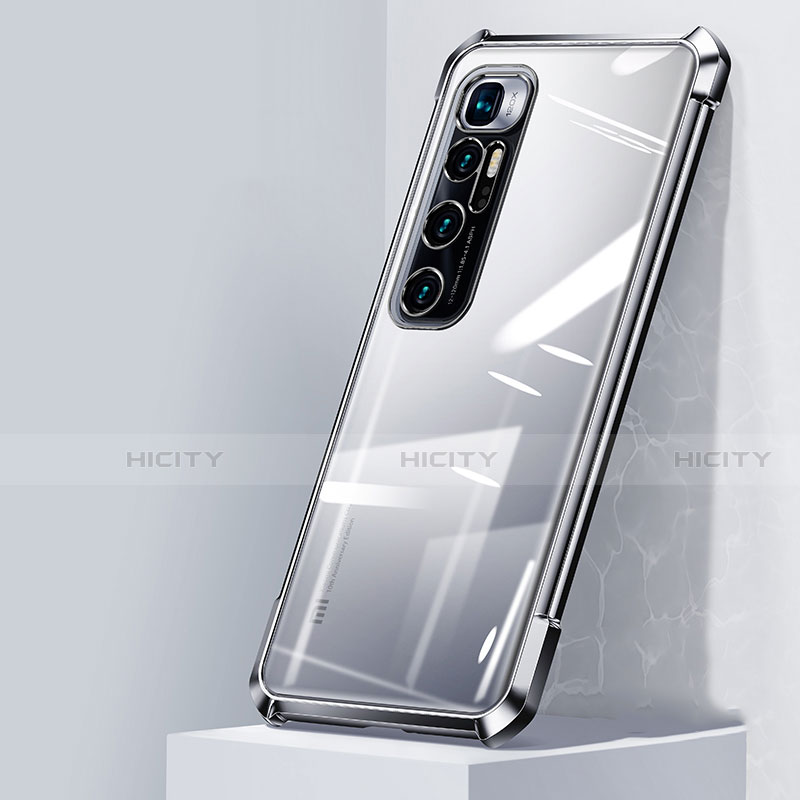 Coque Ultra Fine TPU Souple Housse Etui Transparente H05 pour Xiaomi Mi 10 Ultra Argent Plus