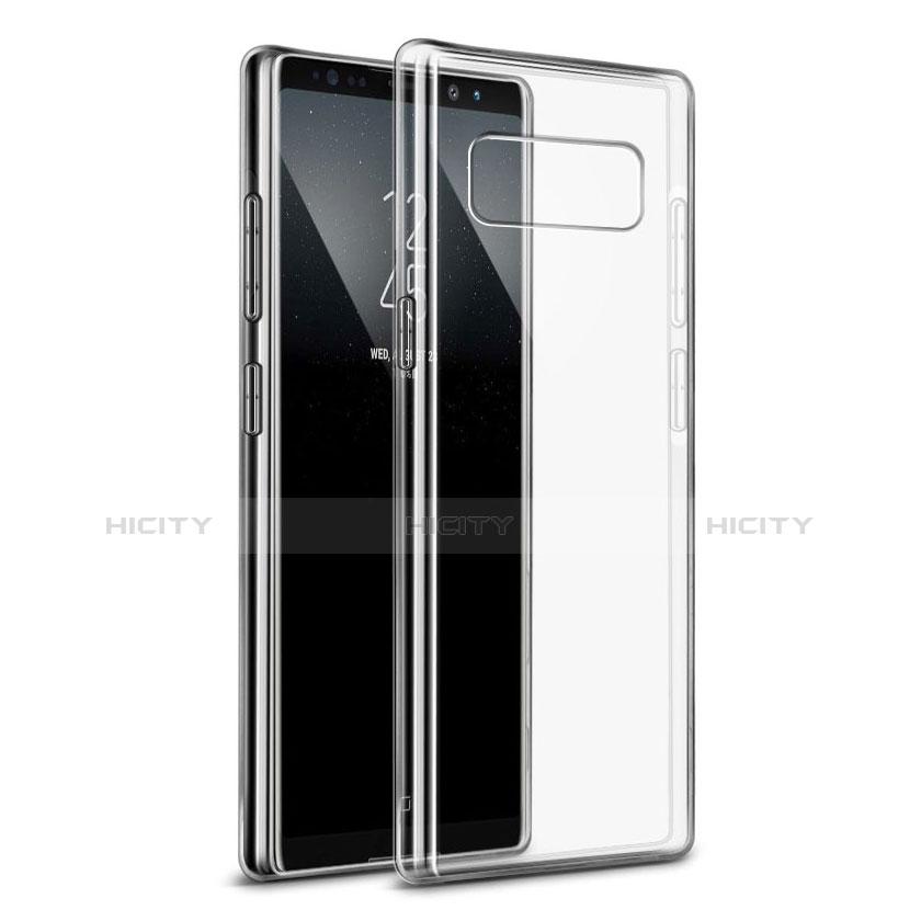 Coque Ultra Fine TPU Souple Transparente H04 pour Samsung Galaxy Note 8 Clair Plus