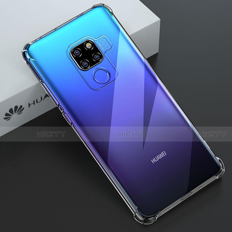 Coque Ultra Slim Silicone Souple Transparente pour Huawei Mate 20 ...