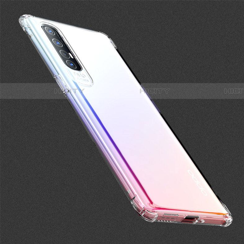 Coque Ultra Slim Silicone Souple Transparente pour Oppo Find X2 Neo Clair Plus