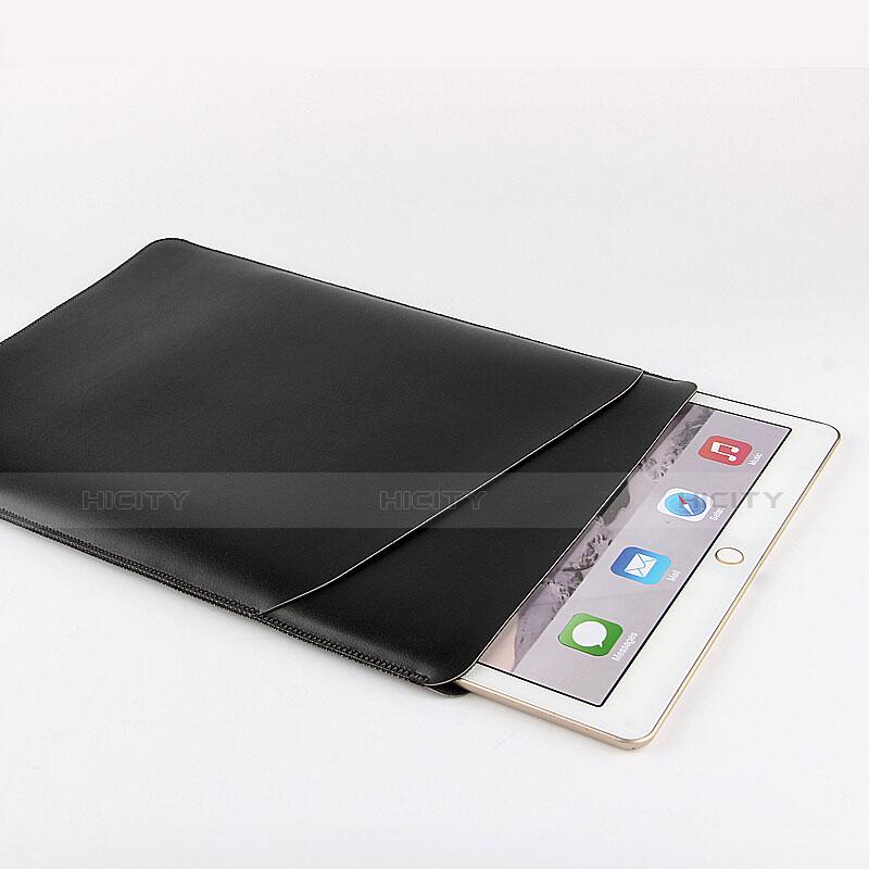 Double Pochette Housse Cuir pour Huawei MatePad 10.4 Noir Plus