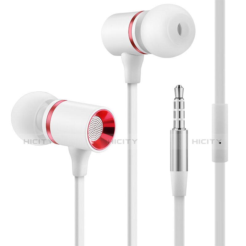 Ecouteur Casque Filaire Sport Stereo Intra-auriculaire Oreillette H29 Blanc Plus