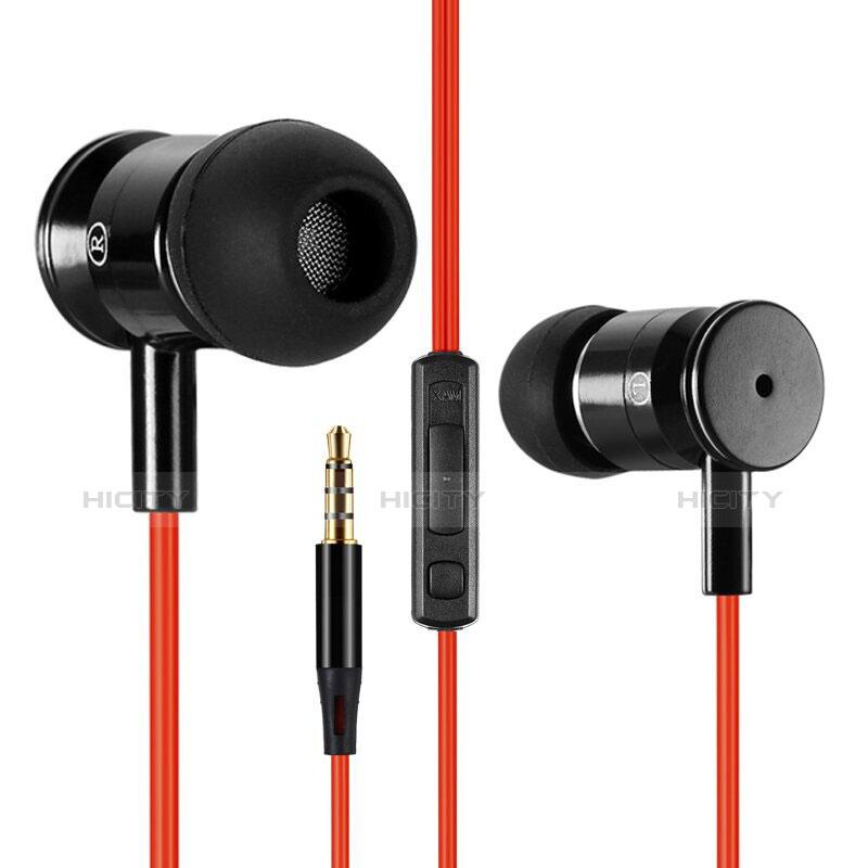 Ecouteur Filaire Sport Stereo Casque Intra-auriculaire Oreillette H32 Noir Plus