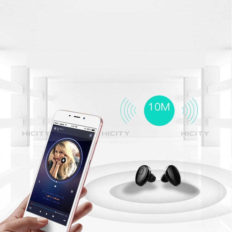 Ecouteur Sport Bluetooth Stereo Casque Intra-auriculaire Sans fil Oreillette H45 Noir Plus