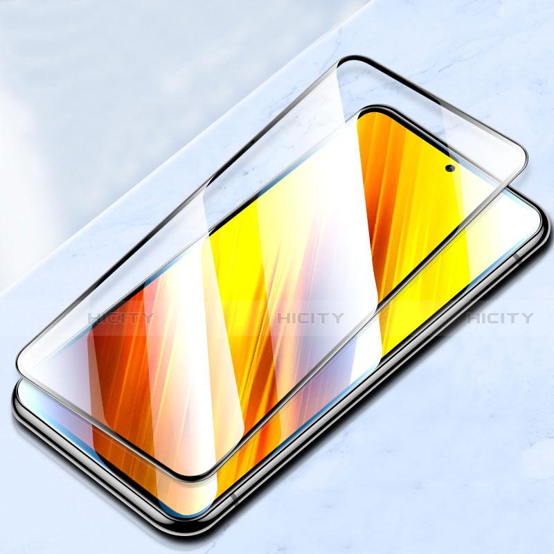 Film Protection Protecteur d'Ecran Verre Trempe Integrale pour Xiaomi Poco X3 NFC Noir Plus
