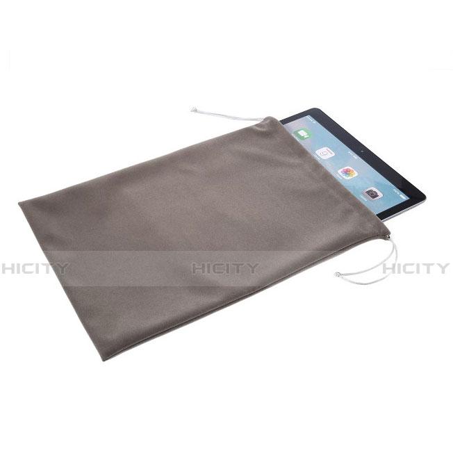 Housse Pochette Velour pour Huawei MatePad 10.4 Gris Plus