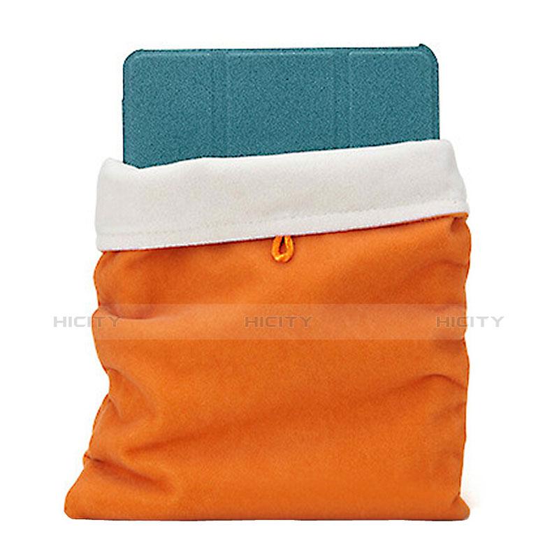 Housse Pochette Velour Tissu pour Huawei MatePad 10.4 Orange Plus
