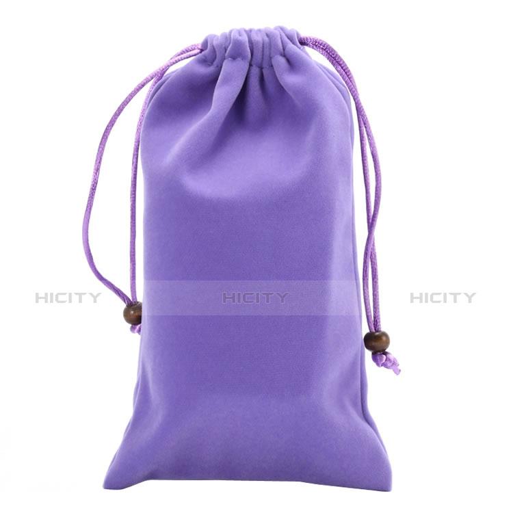 Housse Pochette Velour Universel Violet Plus