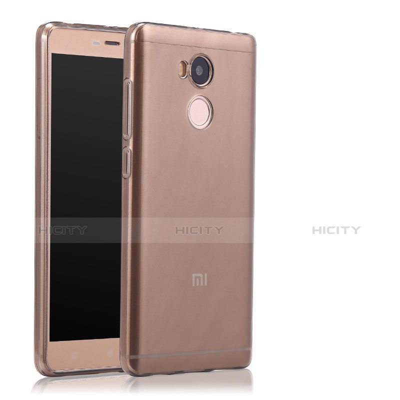 Housse Ultra Fine TPU Souple Transparente T04 pour Xiaomi Redmi 4 Prime High Edition Gris Plus