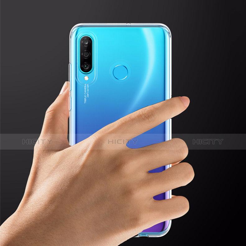 Housse Ultra Fine TPU Souple Transparente T05 pour Huawei P30 Lite Clair Plus