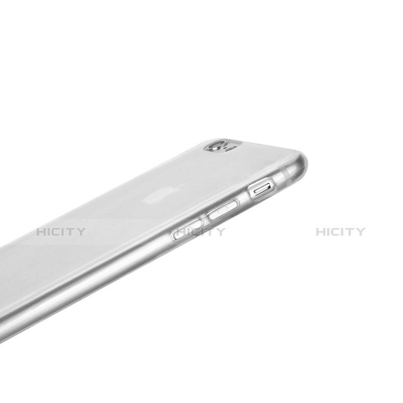 Housse Ultra Fine TPU Souple Transparente T09 pour Apple iPhone 6S Clair Plus