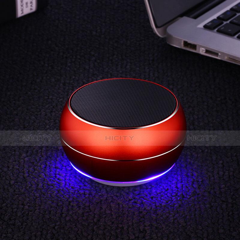 Mini Haut Parleur Enceinte Portable Sans Fil Bluetooth Haut-Parleur Rouge Plus