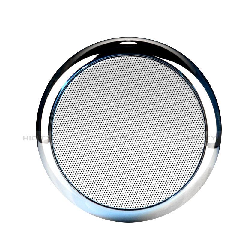 Mini Haut Parleur Enceinte Portable Sans Fil Bluetooth Haut-Parleur S03 Argent Plus
