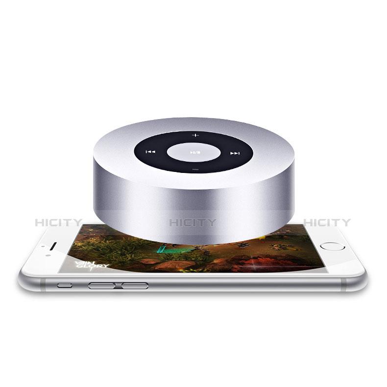 Mini Haut Parleur Enceinte Portable Sans Fil Bluetooth Haut-Parleur S07 Argent Plus