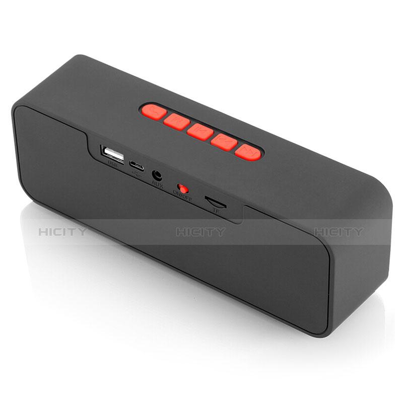 Mini Haut Parleur Enceinte Portable Sans Fil Bluetooth Haut-Parleur S18 Rouge Plus