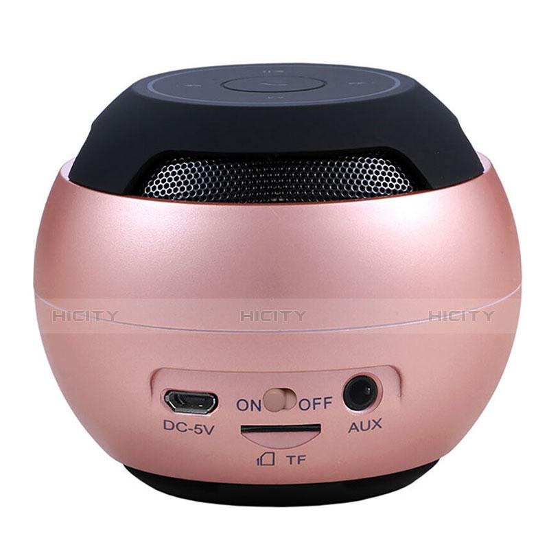 Mini Haut Parleur Enceinte Portable Sans Fil Bluetooth Haut-Parleur S22 Or Rose Plus