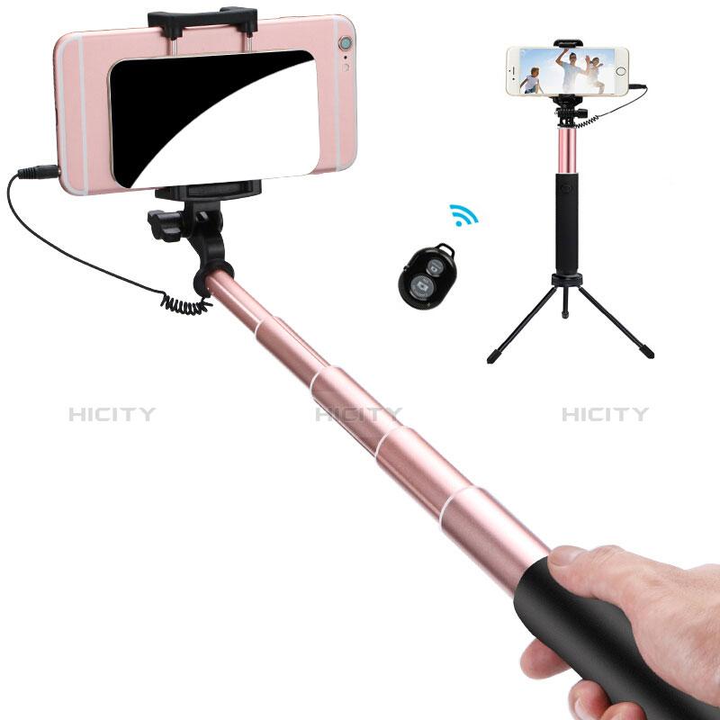 Perche de Selfie Sans Fil Bluetooth Baton de Selfie Extensible de Poche Universel S15 Or Plus