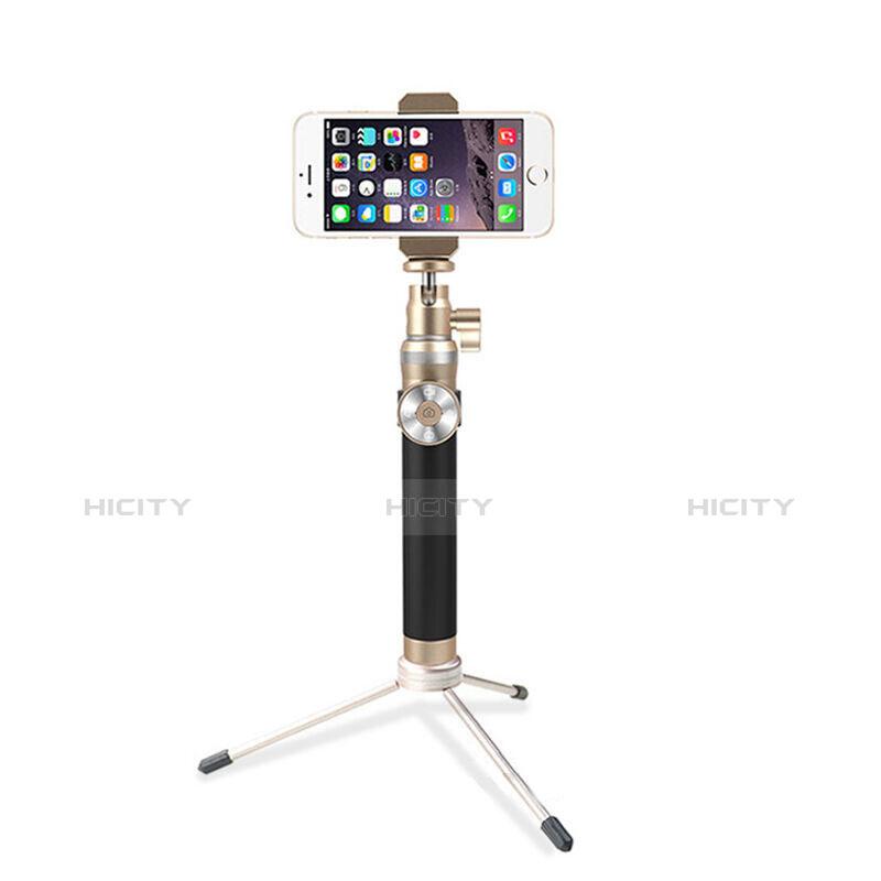 Perche de Selfie Sans Fil Bluetooth Baton de Selfie Extensible de Poche Universel S16 Or Plus