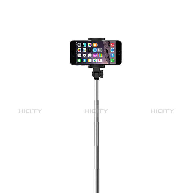 Perche de Selfie Sans Fil Bluetooth Baton de Selfie Extensible de Poche Universel S24 Noir Plus