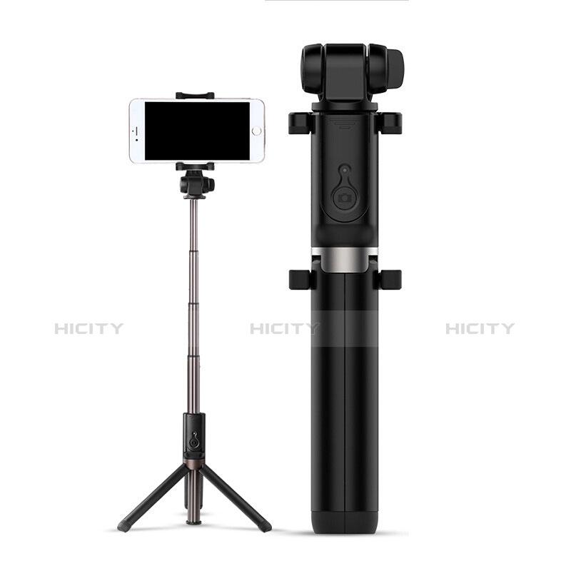 Perche de Selfie Sans Fil Bluetooth Baton de Selfie Extensible de Poche Universel S27 Noir Plus