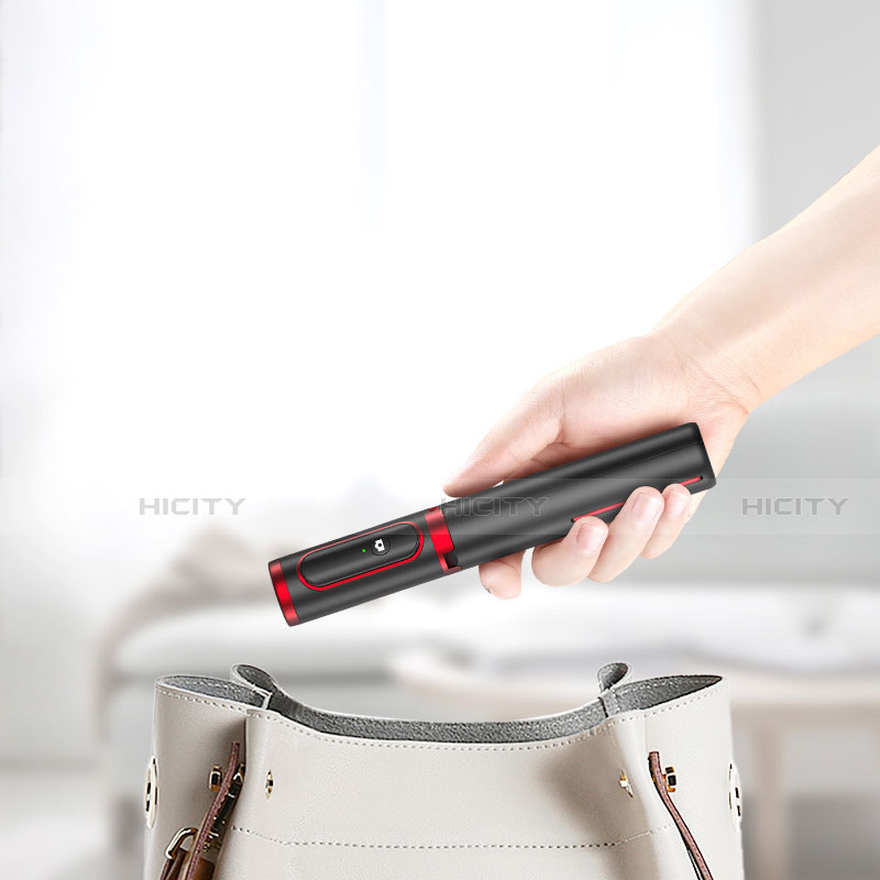 Perche de Selfie Trepied Sans Fil Bluetooth Baton de Selfie Extensible de Poche Universel T26 Plus