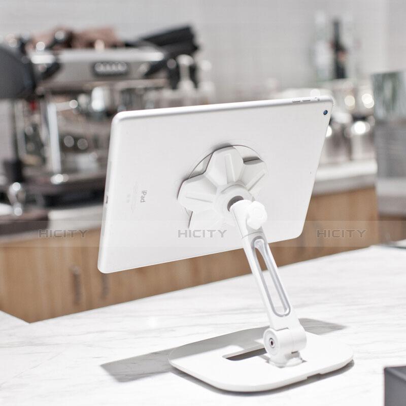 Support de Bureau Support Tablette Flexible Universel Pliable Rotatif 360 H03 pour Apple New iPad 9.7 (2018) Plus