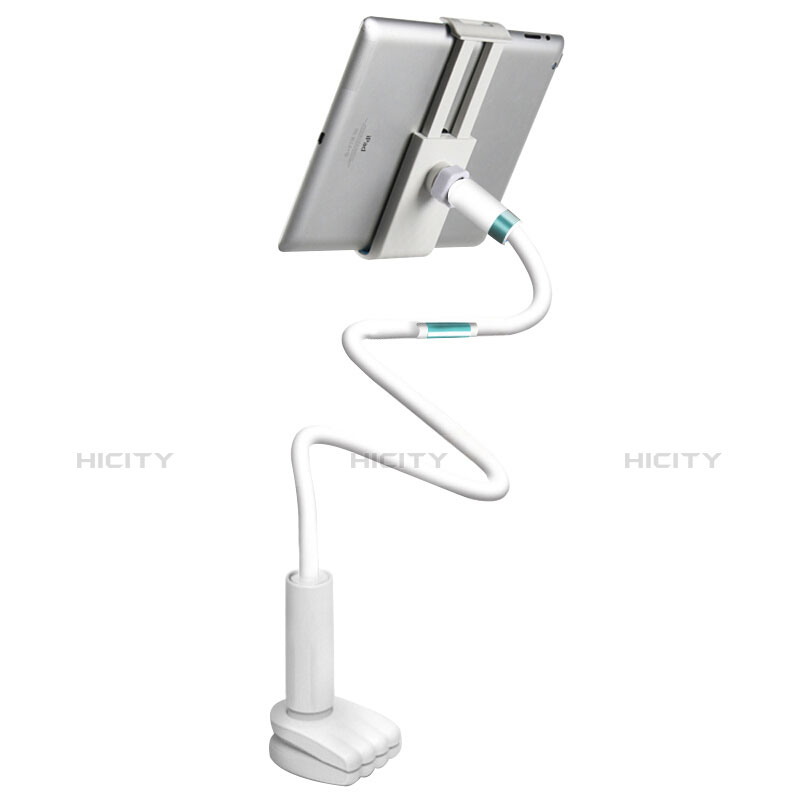 Support de Bureau Support Tablette Flexible Universel Pliable Rotatif 360 pour Huawei MatePad 10.4 Blanc Plus