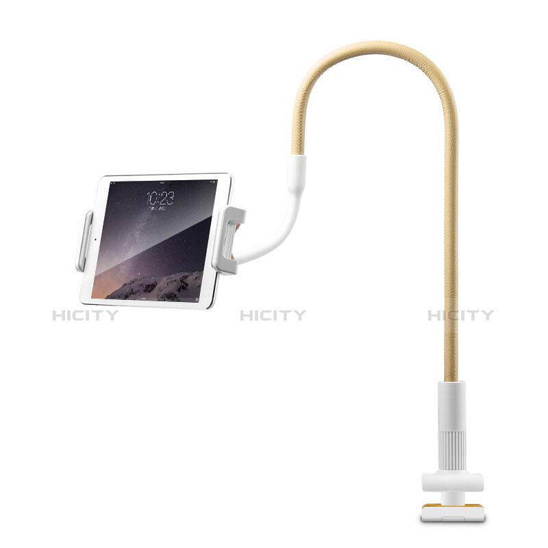 Support de Bureau Support Tablette Flexible Universel Pliable Rotatif 360 T34 pour Huawei MatePad 10.4 Jaune Plus