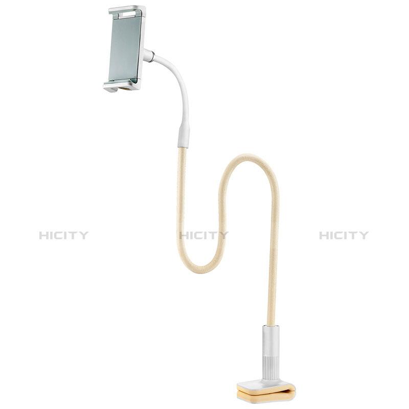 Support de Bureau Support Tablette Flexible Universel Pliable Rotatif 360 T34 pour Huawei MediaPad T2 Pro 7.0 PLE-703L Jaune Plus