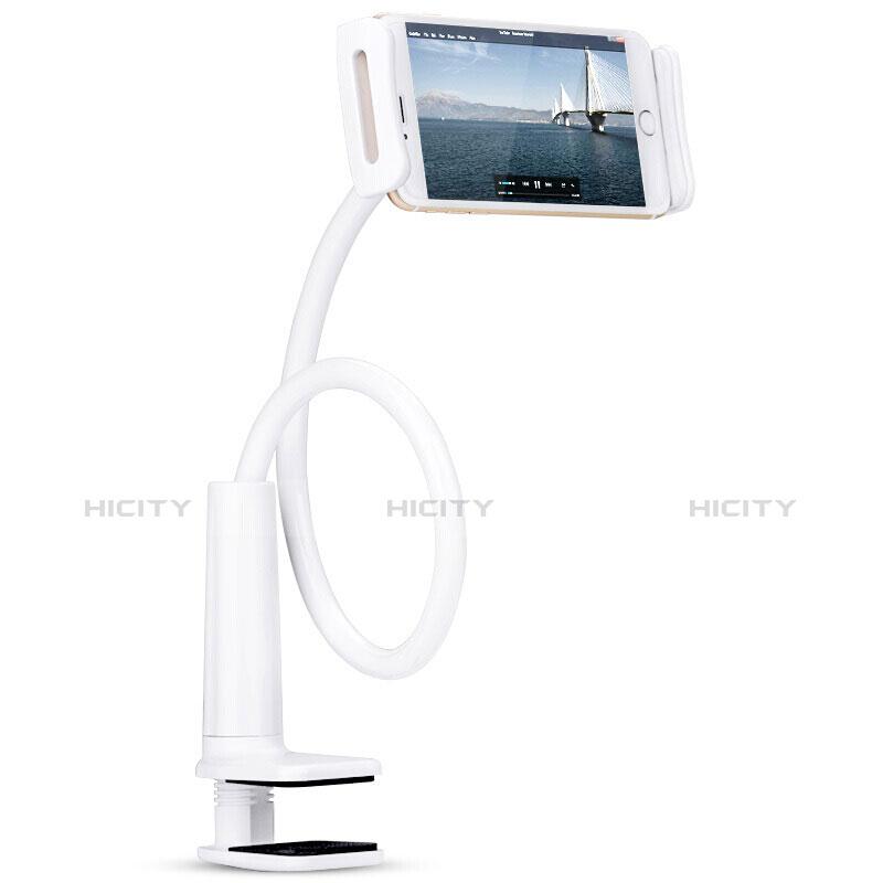 Support de Bureau Support Tablette Flexible Universel Pliable Rotatif 360 T38 pour Huawei MatePad 10.4 Blanc Plus