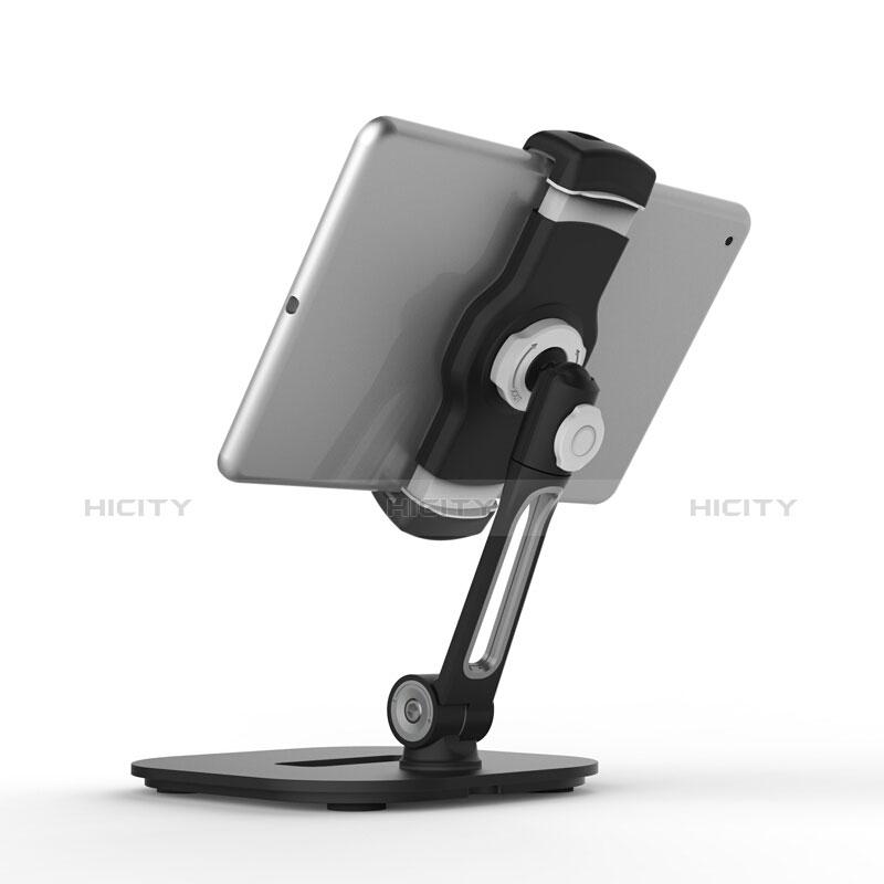 Support de Bureau Support Tablette Flexible Universel Pliable Rotatif 360 T47 pour Samsung Galaxy Tab E 9.6 T560 T561 Noir Plus