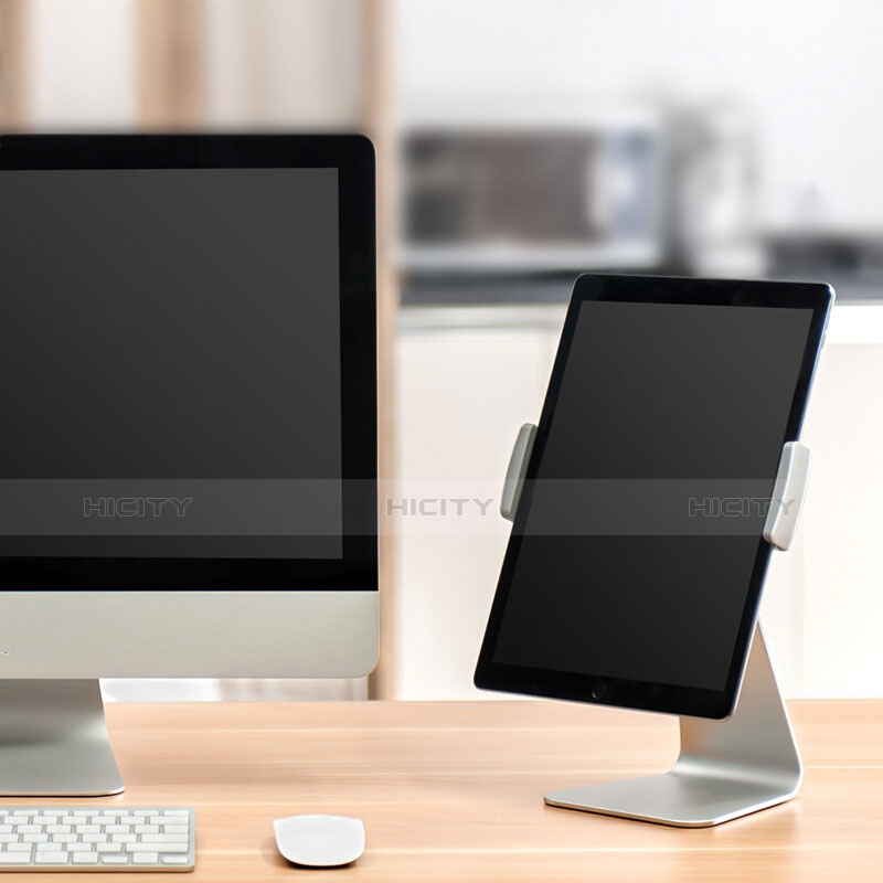 Support de Bureau Support Tablette Universel T24 pour Samsung Galaxy Tab 2 7.0 P3100 P3110 Argent Plus