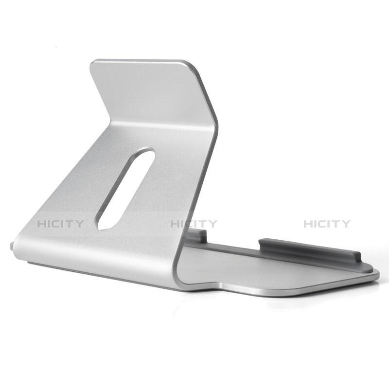 Support de Bureau Support Tablette Universel T25 pour Apple iPad Mini 5 (2019) Argent Plus