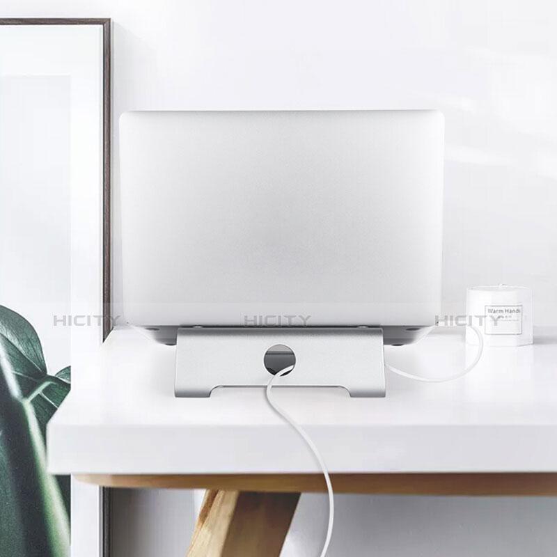 Support Ordinateur Portable Universel S04 pour Apple MacBook Pro 13 pouces Retina Argent Plus