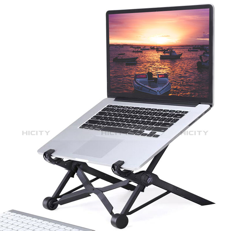 Support Ordinateur Portable Universel S14 pour Apple MacBook Air 13.3 pouces (2018) Noir Plus
