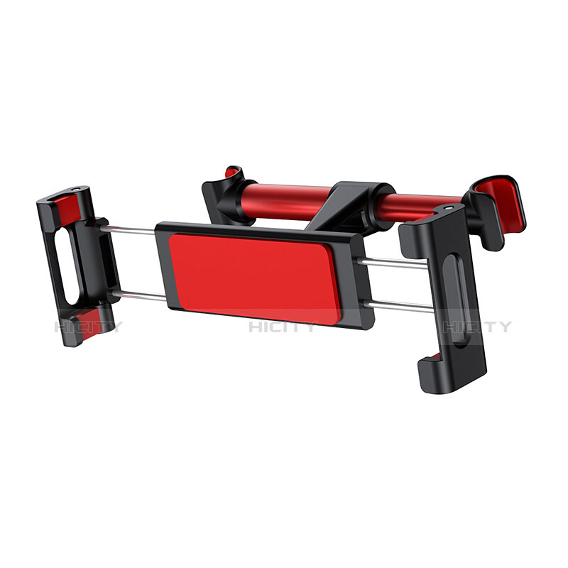 Support Telephone Universel Voiture Siege Arriere Pliable Rotatif 360 B02 Rouge Plus