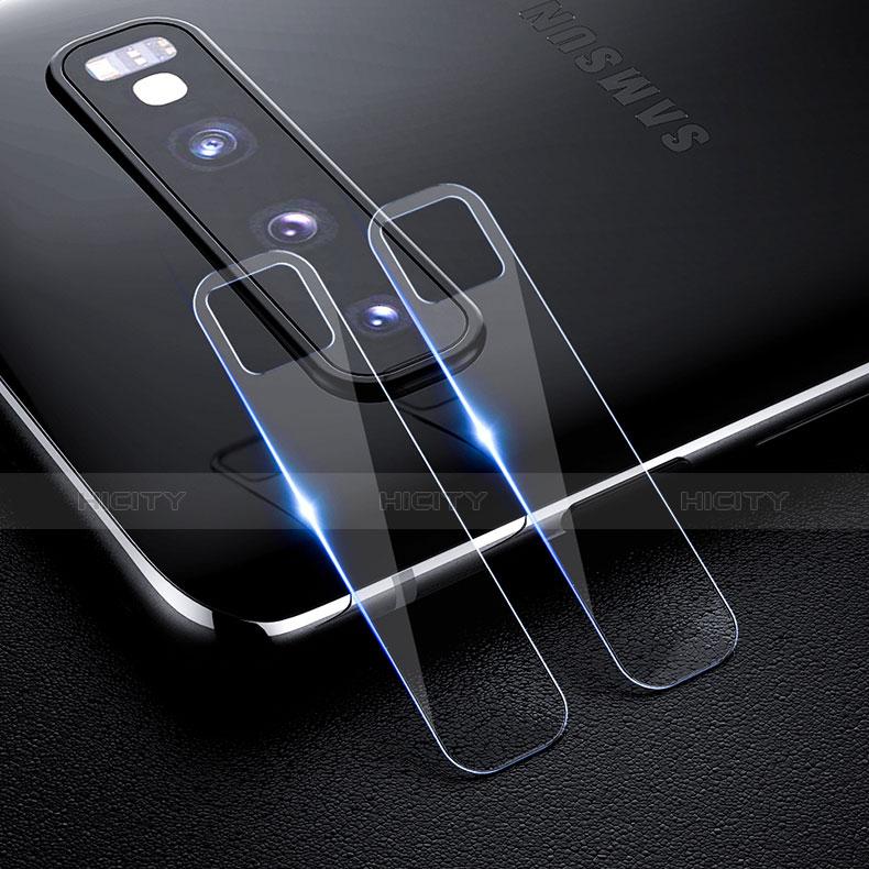 Verre Trempe Protecteur de Camera Protection pour Samsung Galaxy S10 Clair Plus