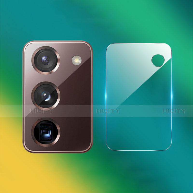 Verre Trempe Protecteur de Camera Protection pour Samsung Galaxy Z Fold2 5G Clair Plus