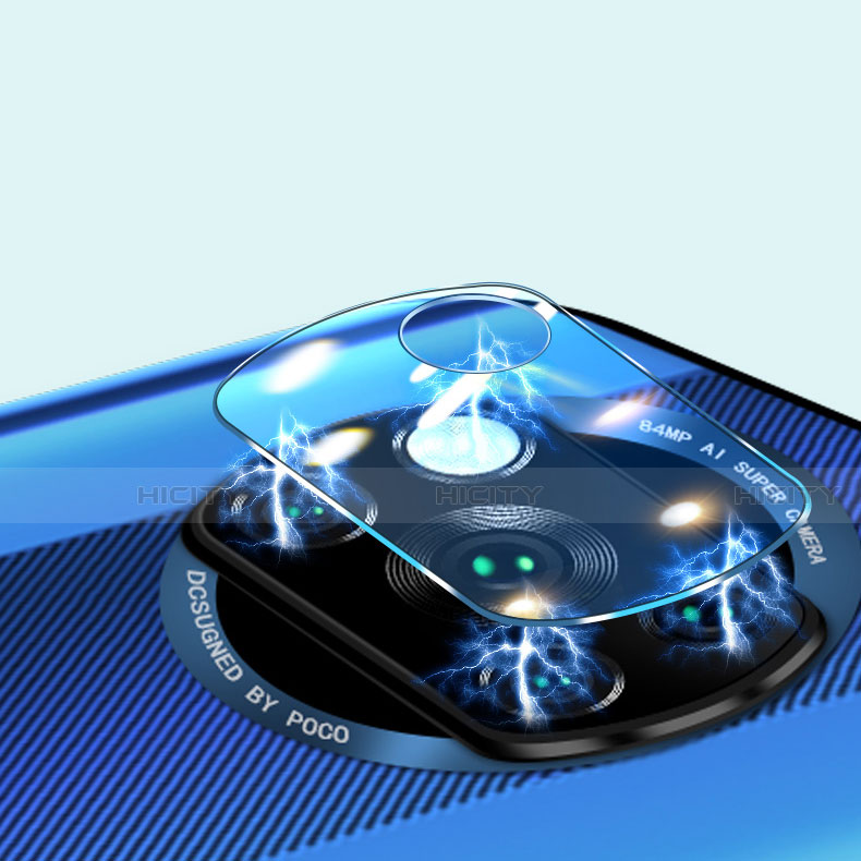 Verre Trempe Protecteur de Camera Protection pour Xiaomi Poco X3 NFC Clair Plus